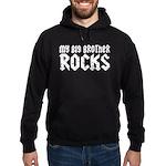 My Big Brother Rocks Hoodie (dark)