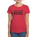 My Big Brother Rocks Women's Dark T-Shirt