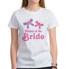 Butterflies Mother of the Bride Tee