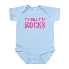 My Big Sister Rocks Infant Bodysuit