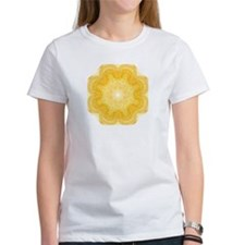 Unique Bright yellow Tee