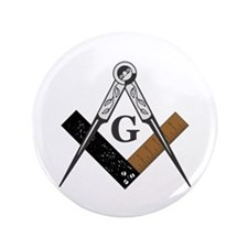 "Masonic Square and Compass 3.5"" Button (100 p"