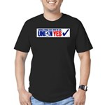 Union Yes Men's Fitted T-Shirt (dark)