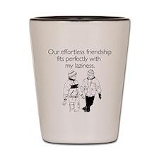 Effortless Friendship Shot Glass