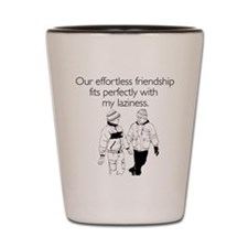 Effortless Friendship Shot Glass
