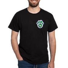Jake Card Co - bryan bowden design Black T-Shirt