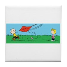 Kite Flight Failure Tile Coaster