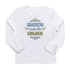 Grandson Sentiments Long Sleeve Infant T-Shirt