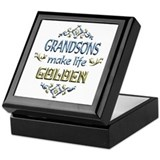 Grandson Sentiments Keepsake Box