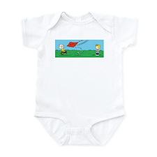 Kite Flight Failure Infant Bodysuit