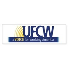 UFCW Bumper Sticker
