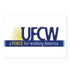 UFCW Postcards (Package of 8)