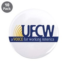 "UFCW 3.5"" Button (10 pack)"