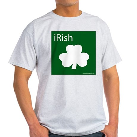 iRish Ash Grey T-Shirt