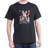 Red White &amp; Bull -  Black T-Shirt