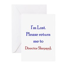 Return Me to Shepard Greeting Cards (Pk of 10)