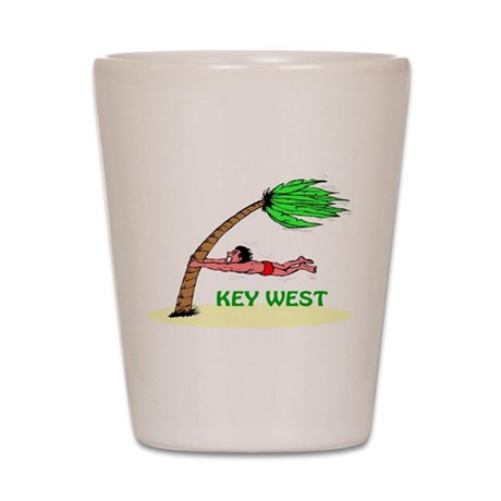 KEY WEST Shot Glass