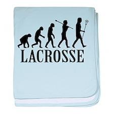 Lacrosse Evolution baby blanket
