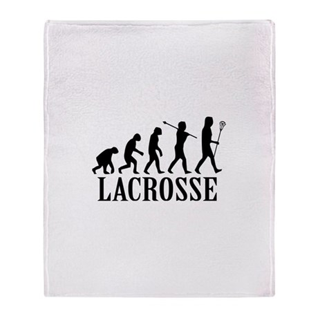 Lacrosse Evolution Throw Blanket