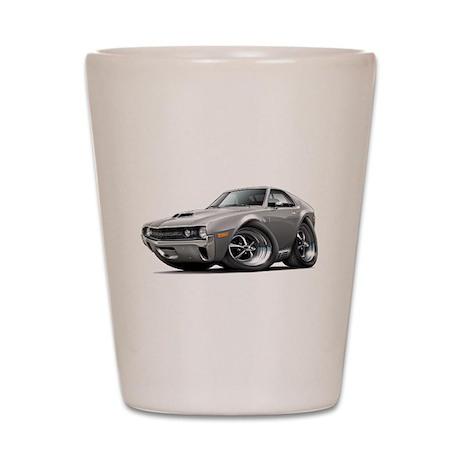 1970 AMX Grey Car Shot Glass
