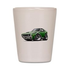 1970 AMX Green-Black Car Shot Glass