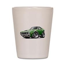 1970 AMX Green Car Shot Glass