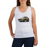 1970 AMX Gold-Black Car Women's Tank Top