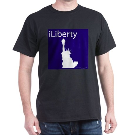 iLiberty Black T-Shirt