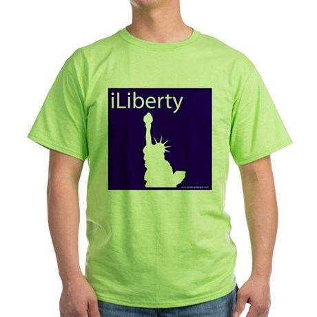 iLiberty Green T-Shirt