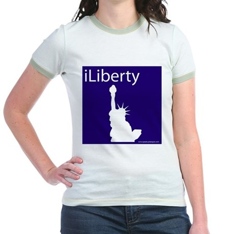 iLiberty Jr. Ringer T-Shirt