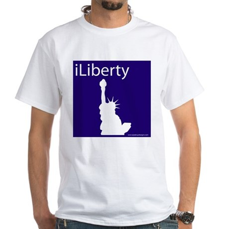 iLiberty White T-Shirt