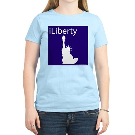 iLiberty Women's Pink T-Shirt