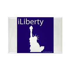 iLiberty Rectangle Magnet