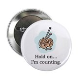 "Knitters Button (2.25"" Button)"
