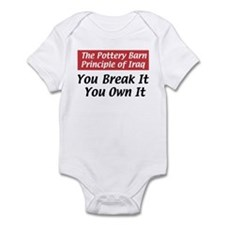 Pottery Barn Principle Infant Creeper