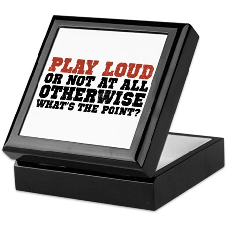 Play Loud Keepsake Box