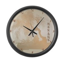 Japan Earthquake & Tsunami Re Large Wall Clock