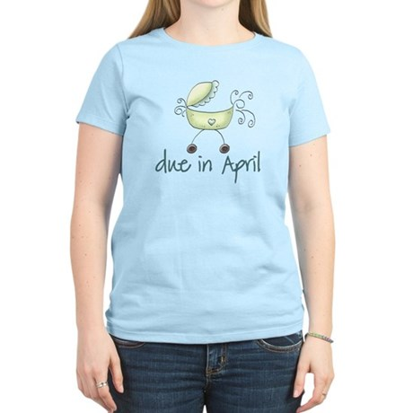Green April Baby Buggy Women's Light T-Shirt