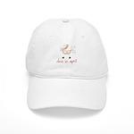 April Pink Baby Buggy Cap