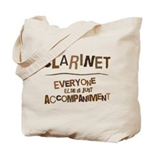 Funny Clarinet Accompaniment Tote Bag