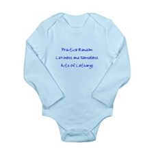 Laziness & Lethargy Long Sleeve Infant Bodysuit