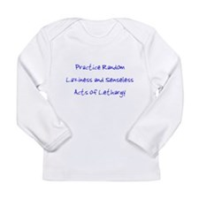 Laziness & Lethargy Long Sleeve Infant T-Shirt