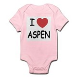 I heart Aspen Infant Bodysuit