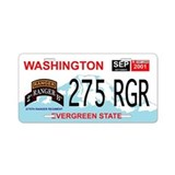 2/75 RGR Washington License Plate
