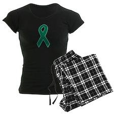 Green Awareness Ribbon pajamas