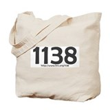 1138 Rights Denied Tote Bag