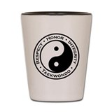 Respect Honor Integrity TKD Shot Glass