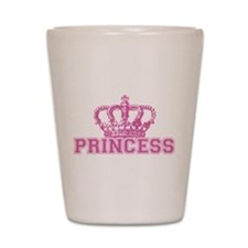 Crown Princess Shot Glass