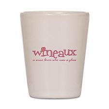 Wineaux def Shot Glass
