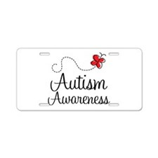 Autism Awareness Support Logo License Plate